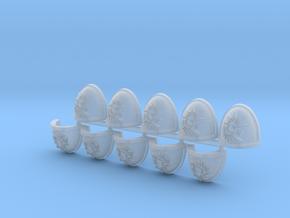 Phoenix Sons Shoulder Pads Mk7/8 R in Smooth Fine Detail Plastic