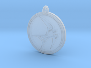 Swallow Animal Totem Pendant in Smooth Fine Detail Plastic