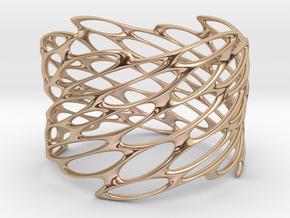 Lattice0105 Bracelet REPAIR 2 in 14k Rose Gold Plated Brass