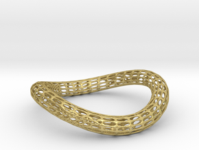BENTorus Silver 0012 in Natural Brass