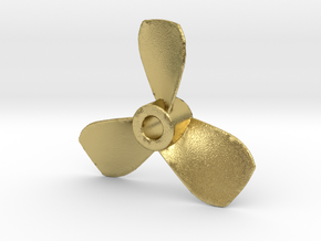 Propeller UB1 in Natural Brass