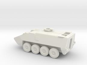 1/100 Scale Stryker APC in White Natural Versatile Plastic