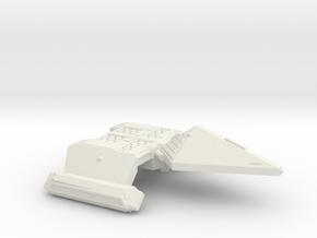 3788 Scale Neo-Tholian Destroyer SRZ in White Natural Versatile Plastic