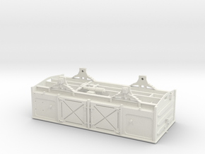 SAR 'OF' O scale Assembly1 in White Natural Versatile Plastic