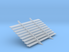 1:25 scale custom blinds for 1960-61 Impala Blinds in Smoothest Fine Detail Plastic