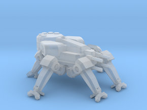 Spider Tank drone mech in Smooth Fine Detail Plastic