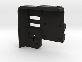 LockableGarmin 595 Base Plate - BMW Compatible in Black Natural Versatile Plastic