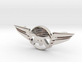 747 bracelet 2018 in Rhodium Plated Brass