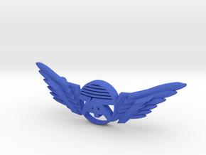 Many Planes Bracelet2 in Blue Processed Versatile Plastic