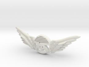 Many Planes Bracelet2 in White Premium Versatile Plastic