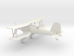 Fieseler Fi 167 in White Natural Versatile Plastic: 1:64 - S