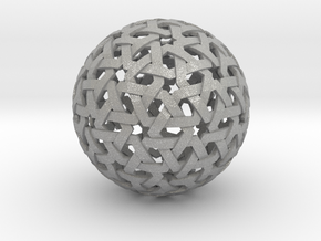 Geodesic Weave  in Aluminum