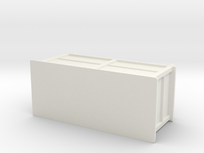 Printle Thing Buffet 01 - 1/24  in White Natural Versatile Plastic