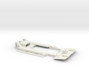 Carrera Universal 132 Opel Calibra DTM Chassis 199 in White Natural Versatile Plastic