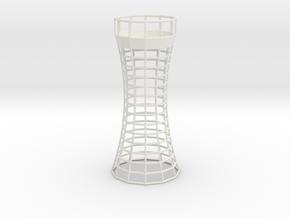 Faro Tealight Holder in White Natural Versatile Plastic