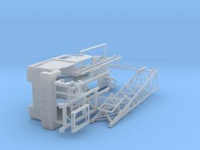 1/87th P&H Type Lattice Boom Crane  in Smooth Fine Detail Plastic