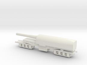 canon de 274 mm mle 1893 1/160 railway artillery  in White Natural Versatile Plastic