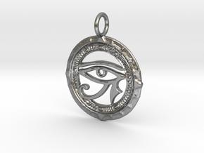 horus zilver in Natural Silver