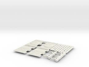 ELEPHANT CASTLE 2  in White Natural Versatile Plastic