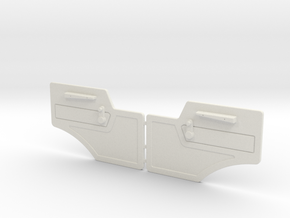 Door panel for MB NG in White Natural Versatile Plastic