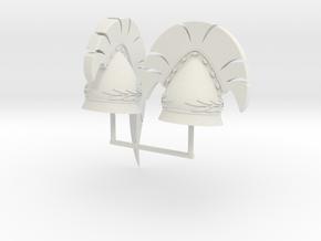 PYLOS HELMET 3AND4  in White Natural Versatile Plastic