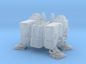 Barracks structure Starcraft in Smooth Fine Detail Plastic