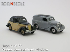SET 2x Ford Eifel (N 1: 160) in Smooth Fine Detail Plastic