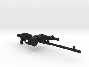 Star Wars RT-97C Heavy Rifle in Black Natural Versatile Plastic