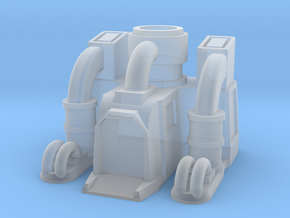 Terran refinery Starcraft in Smooth Fine Detail Plastic