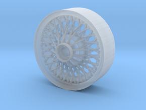 British style wire wheel in Smoothest Fine Detail Plastic