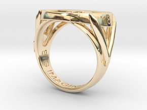 747 Ring in 14K Yellow Gold: 7 / 54