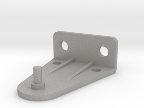 Hold Down Bracket 383-B in Aluminum