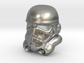Stormtrooper Lapel Pin in Natural Silver
