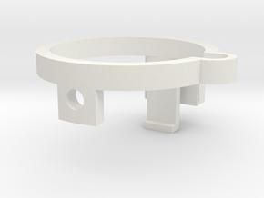 Z Cam E1 Z-clip in White Natural Versatile Plastic