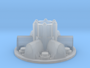 Sci fi module / space hub, shield generator in Smooth Fine Detail Plastic