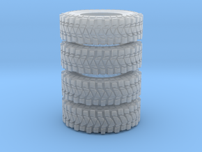 jeep 37 tires in Smooth Fine Detail Plastic