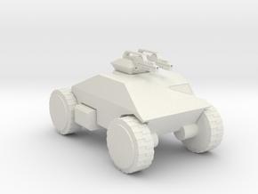 Aliens M555 scout 160 scale in White Natural Versatile Plastic