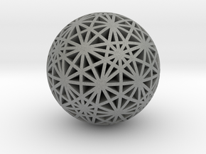 Geodesic Great Circles in Gray Professional Plastic