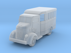 Nissan 80 bus 1:200 in Smooth Fine Detail Plastic
