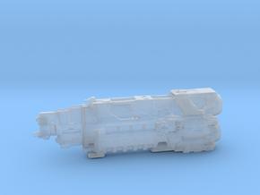 UNSC Pillar Of Autumn high detail 5 cm in Smooth Fine Detail Plastic