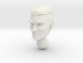 micro head 3 in White Premium Versatile Plastic