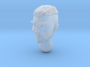 micro head 3 in Smooth Fine Detail Plastic
