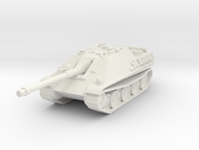 Jagdpanther scale 1/100 in White Natural Versatile Plastic