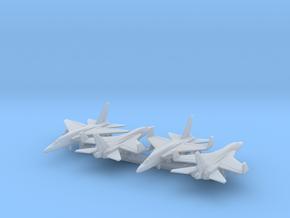 RA-5C w/Gear x4 (FUD) in Smooth Fine Detail Plastic: 1:600