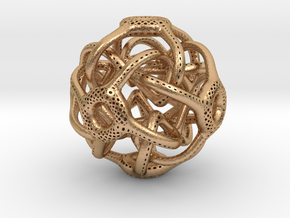 Cubic Octahedral Symmetry Perforation Type 1 in Natural Bronze
