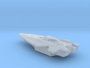 Elite Anaconda starship in Smooth Fine Detail Plastic