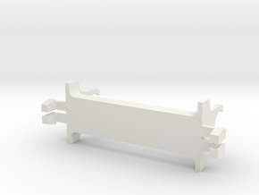 Jouef 66000 support moteur Motraxx pour chassis HJ in White Natural Versatile Plastic