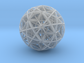Hedron Star compound in Smooth Fine Detail Plastic