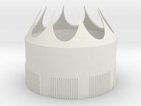 Saturn 1b Tank Fairing (1/100th scale) in White Natural Versatile Plastic