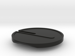 Buttcoin Cigar Stand (one half) in Black Natural Versatile Plastic